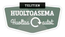 Telitien huoltoasema logo
